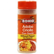 Bohio Adobo con Sazon sin Pimienta 10.5 oz