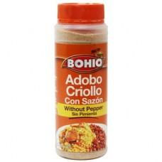 Bohio Adobo con Sazon sin Pimienta 16.5 oz