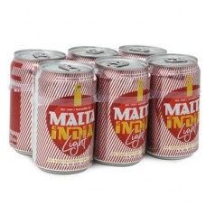 Malta India Light 8 oz 6 pk